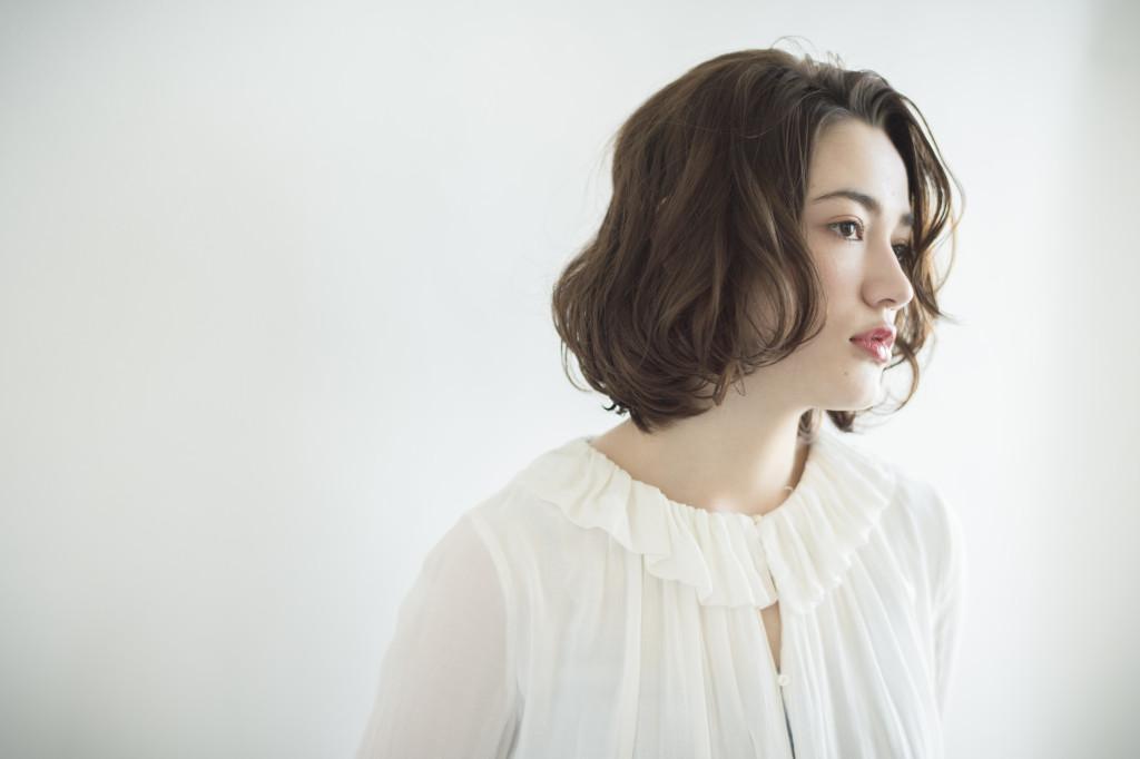 自由が丘でオススメの美容室keep hair designン提案する人気ヘアスタイル ミディアムボブヘアスタイル 担当美容師 木田昌吾