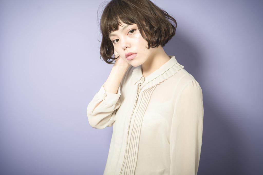 自由が丘でおすすめの美容室keep hair design 木田昌吾 ショートボブアッシュカラースタイル