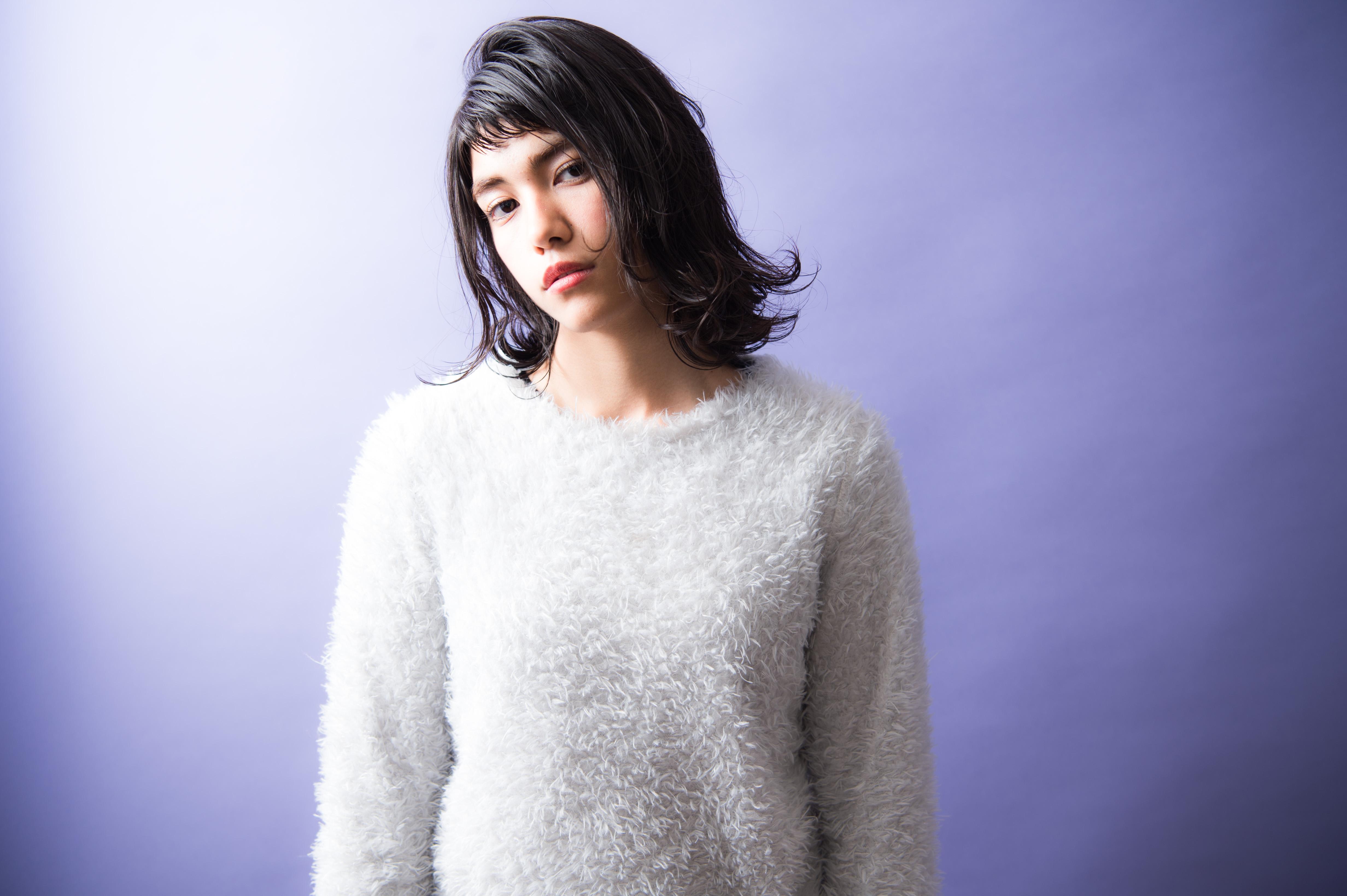 自由が丘美容室、keep hair designスタイリスト甲田粋愛。ガールズパワーミディアムスタイル