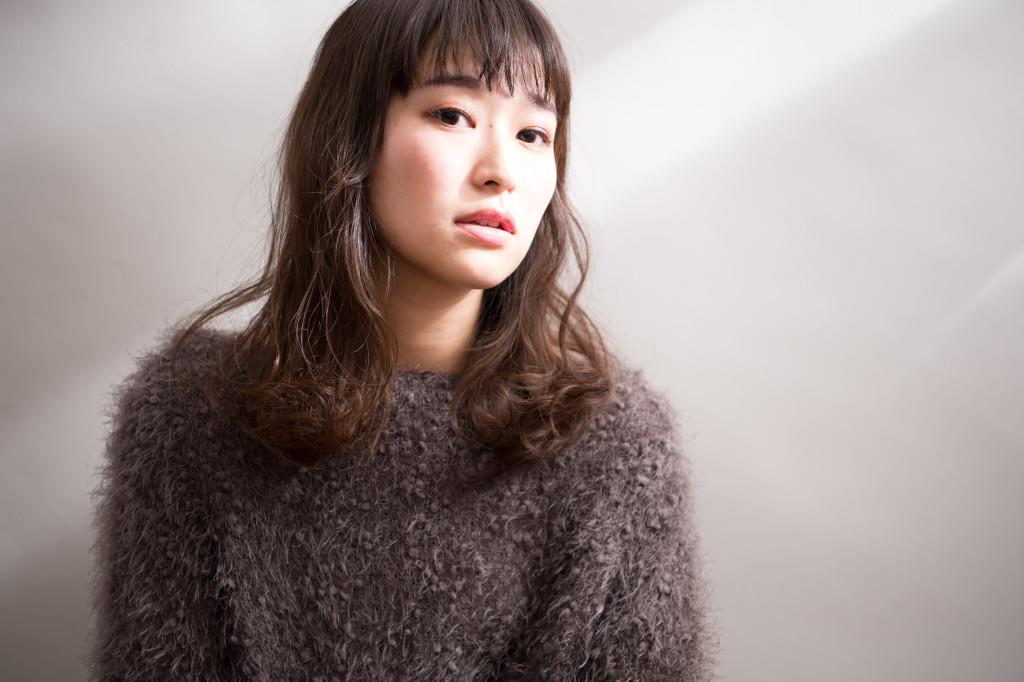 自由が丘美容室keep hair designスタイリスト齋藤綾乃軟毛におすすめのパーマミディアムスタイル