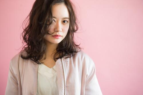 自由が丘美容室 keep hair design スタイリスト 齋藤綾乃 パーマロングヘアスタイル