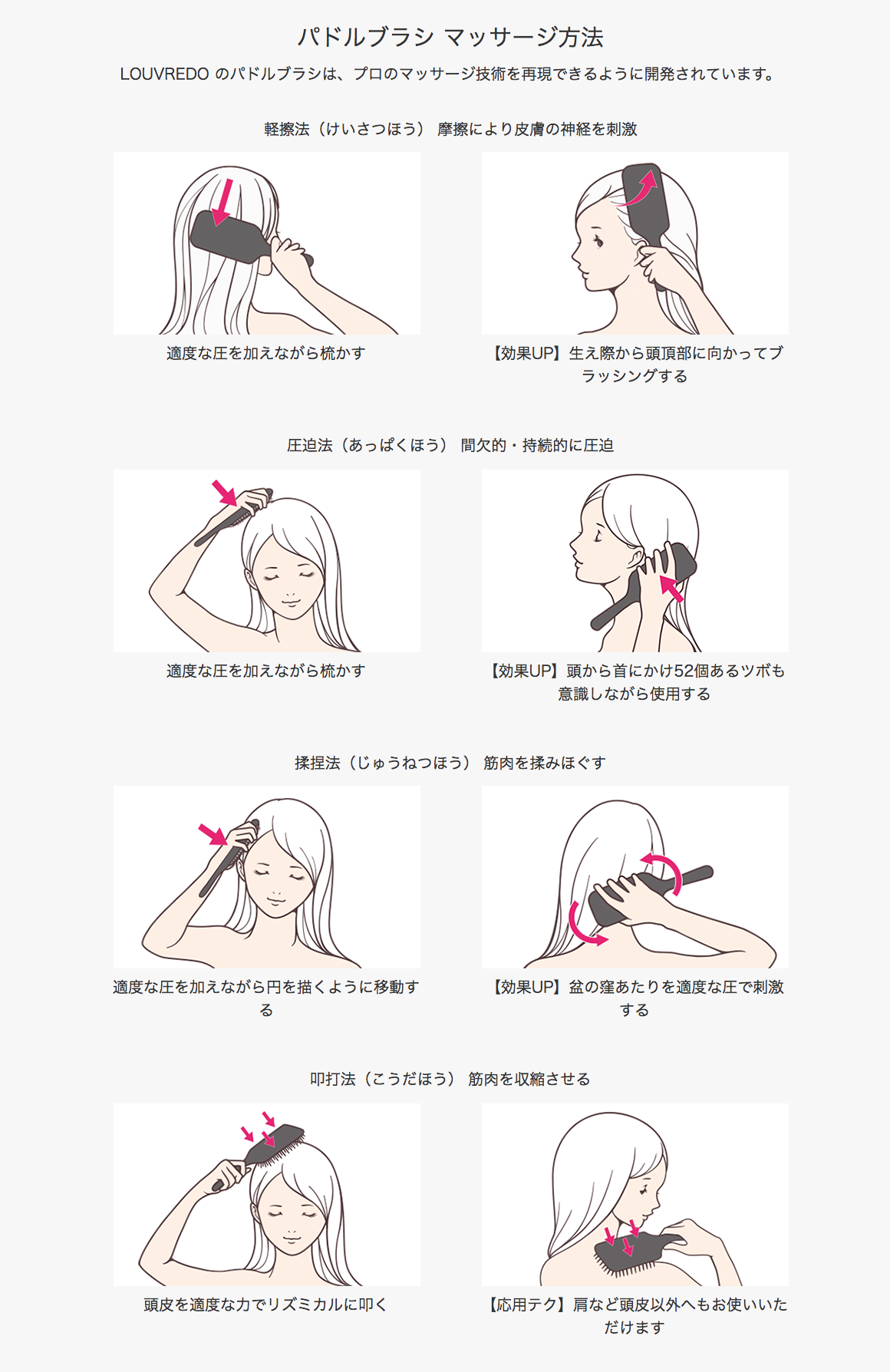 復元 ルーブルドーパドルブラシ   自由が丘の美容室(ヘアサロン)Keep hair design